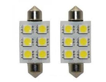 Lampada Torpedo 41 LED PAR