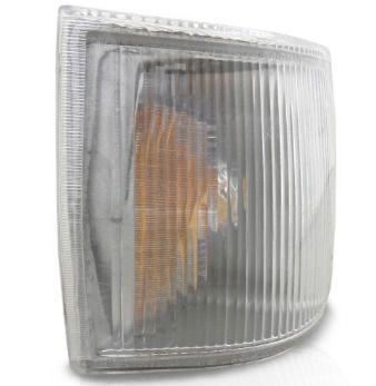 Lanterna Dianteira Cristal Fiat Uno 1991 em diante (Lado Direito) - JCV (250042)