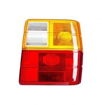 Lente p/ Lanterna Traseira Tricolor Fiat Uno 1984 Em diante (Lado Direito) - JCV (253012)
