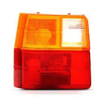Lente p/ Lanterna Traseira Tricolor Fiat Uno 1984 Em diante (Lado Esquerdo) - JCV (253112)