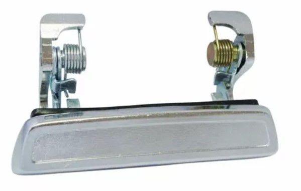 Maçaneta Ext Porta Cromada L/E-Corcel II-Del Rey-2p-30.140