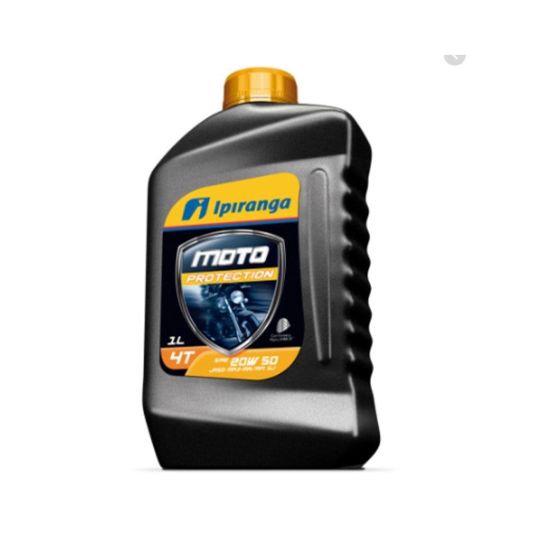 Oleo Lubrificante Mineral Especial Para Motores MOTO PROTECTION4T SAE 20W50 JASO API