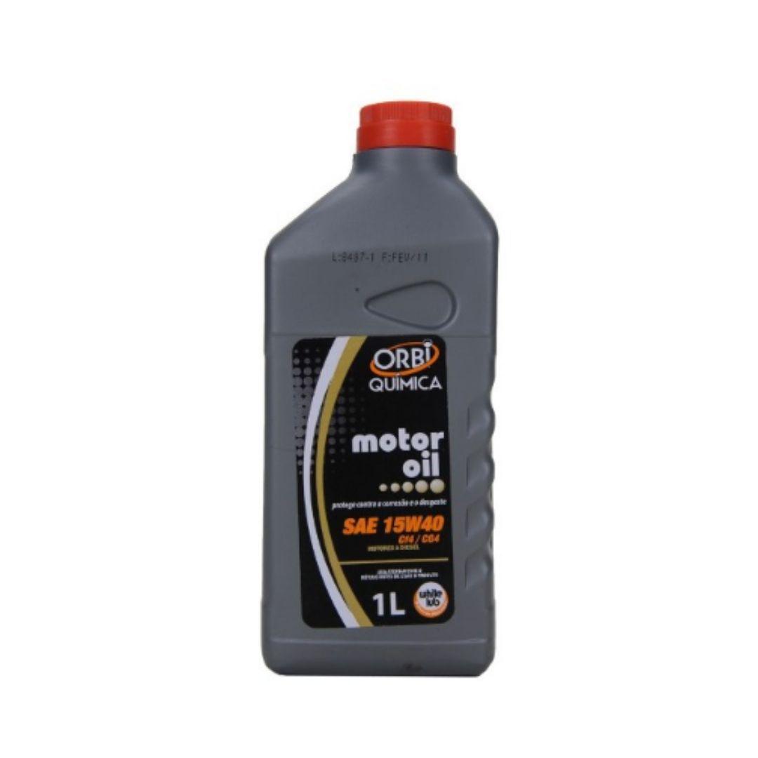 Oleo Lubrificante Mineral Para Motor White LUB SAE 15W40 SL