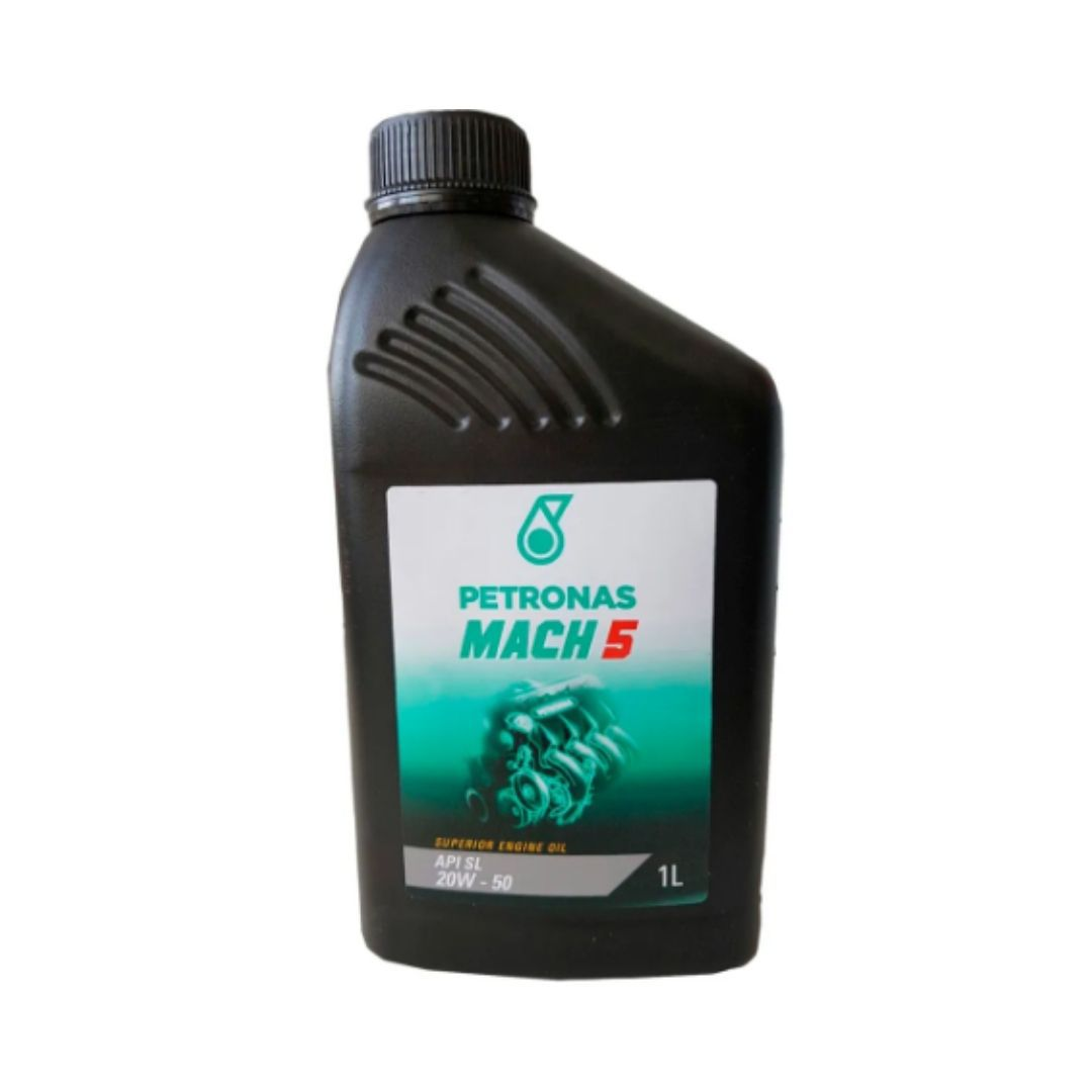 Oleo Lubrificante Mineral Para Motores Flex API SL SAE 20W50 MINERAL MACH5 PLUS
