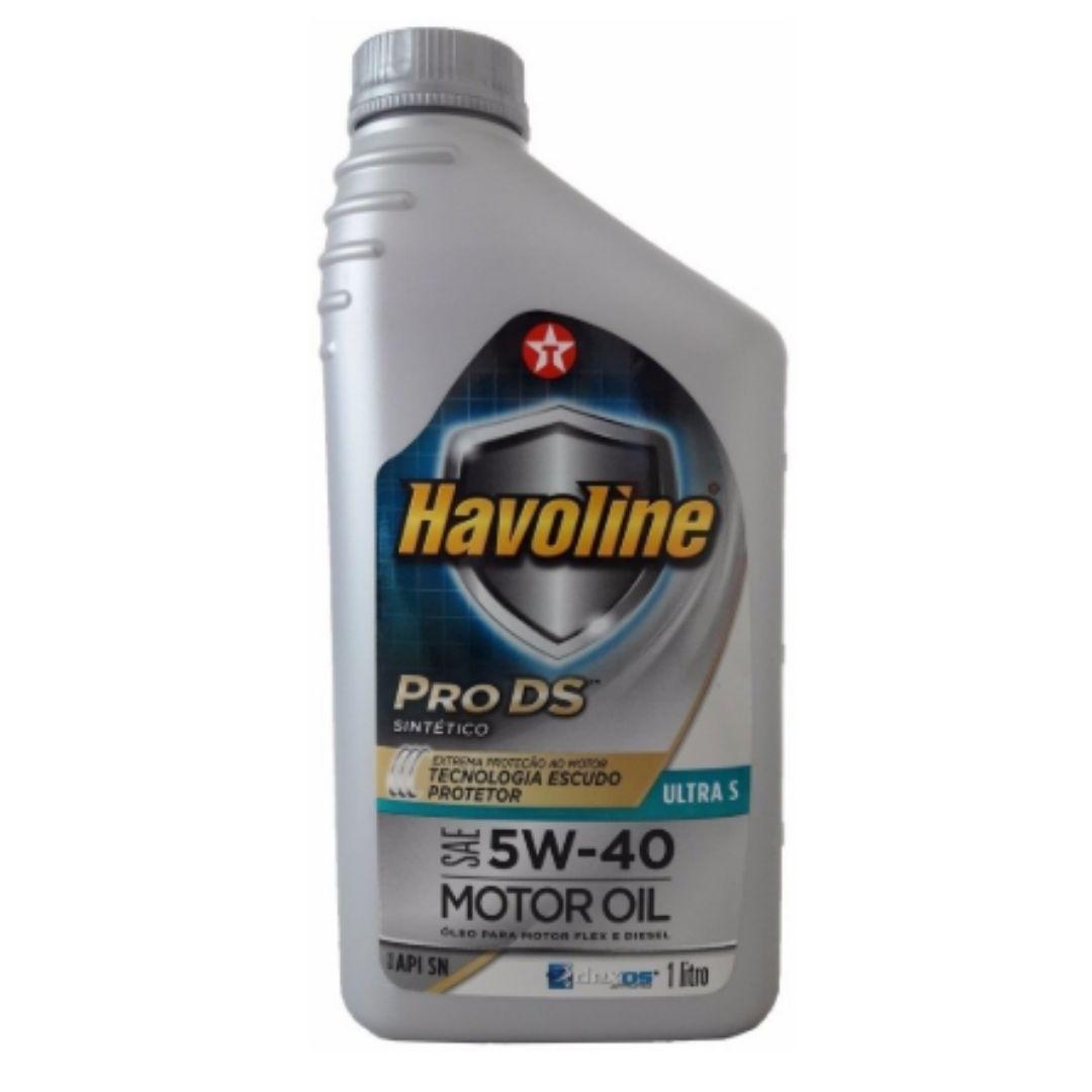 Oleo Lubrificante SINTETICO Para Motor FLEX SAE 5W40 PRO DS
