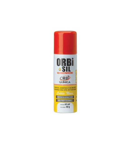 Silicone spray 65ml aroma carro novo - 27165 - Orbi