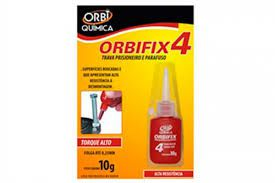 Trava Parafuso 10G Vermelho-ORBIFIX