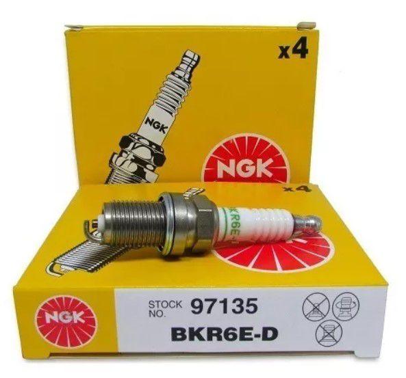 Vela de Ignição NGK-BKR6E- Gasolina