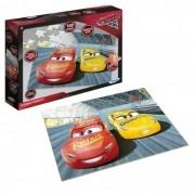 Jogo Quebra-Cabeça Carros Disney 100 peças