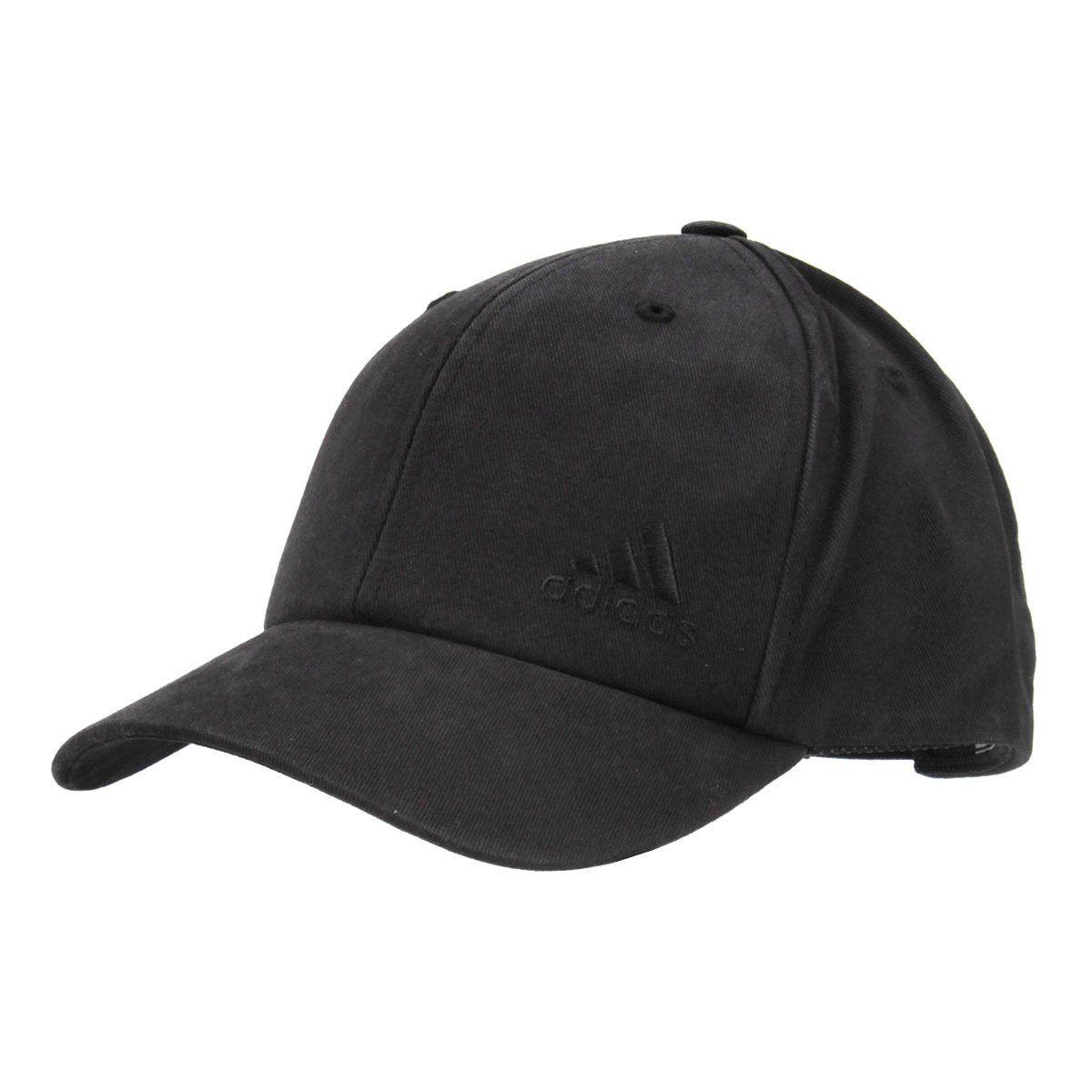 Boné Adidas Black Aba Curva