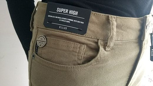 Calça Ellus Super High Skinny