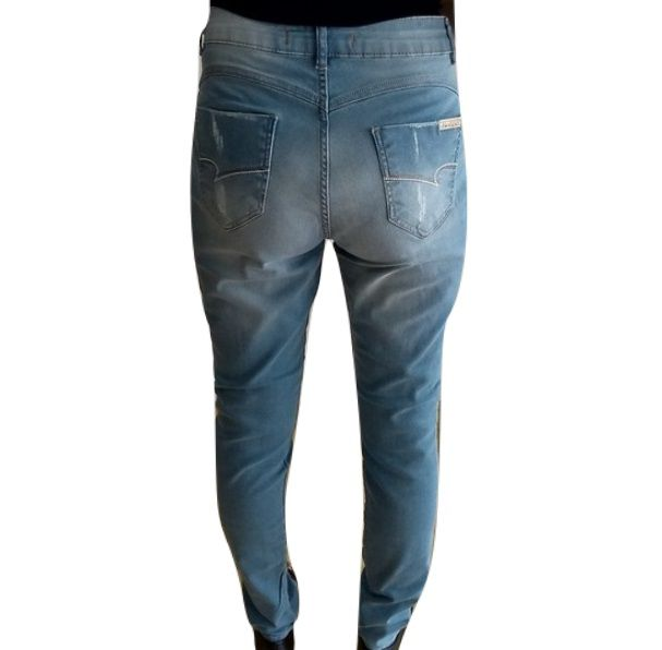 Calça Jeans Biotipo Skinny Rasgada