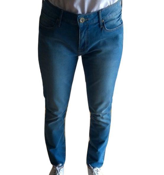 Calça Jeans Canal Skinny Estonada Feminina