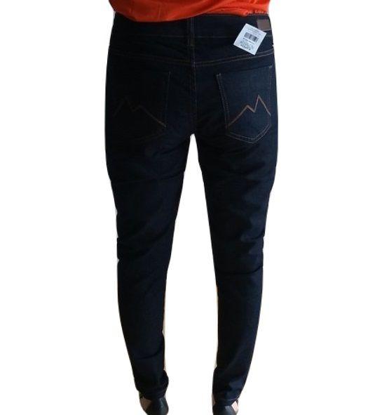 Calça Jeans M. Officer Super Skinny Lavagem Escura Feminina
