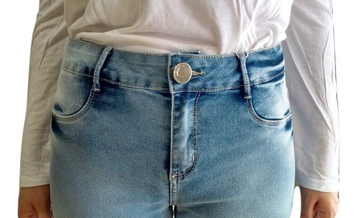 Calça Jeans Morena Rosa Skinny Estonada