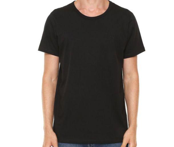 Camiseta Colcci Masculina M/C Logo Bordado