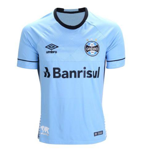 Camiseta Grêmio Umbro Oficial Charrua s/ número