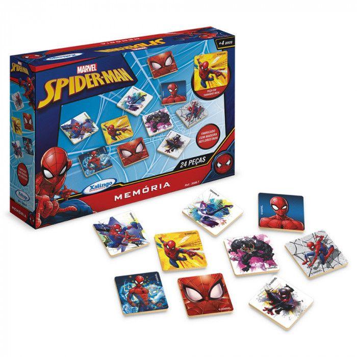 Jogo da Memória Spider-Man Ultimate