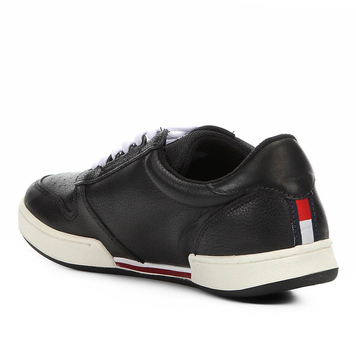 Tênis Tommy Hilfiger Hoxt Couro Masculino