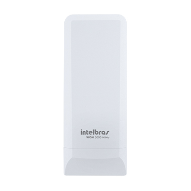 AP OUTDOOR WIRELESS CPE 300MBPS INTELBRAS WOM 5000 MIMO 5.0GHZ 14DBI MIMO 2X2 - 4750024-Garantia: 365 dias