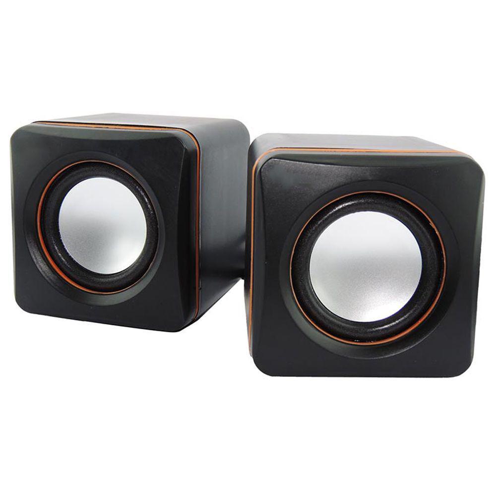 CAIXA DE SOM BRAZILPC BPC-D02L USB PRETO BOX   I
