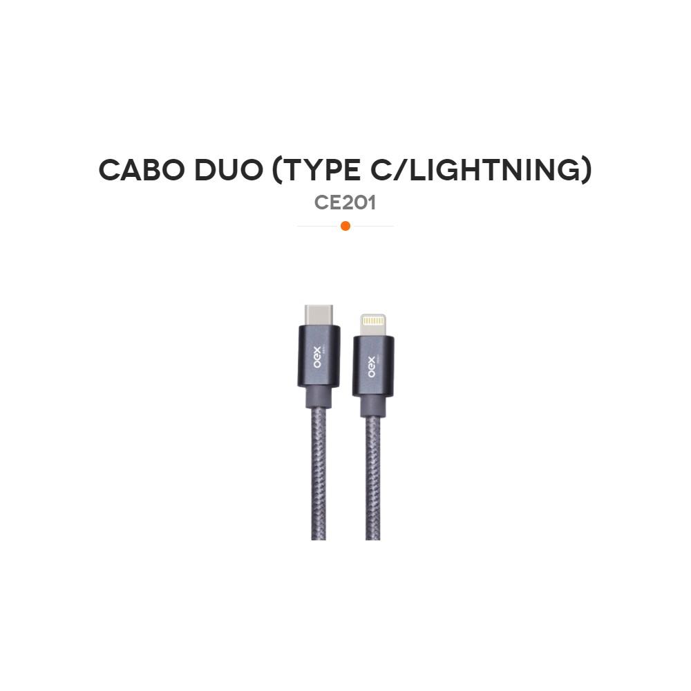 CE201 CABO DUO (TYPEC/LIGHTNING)