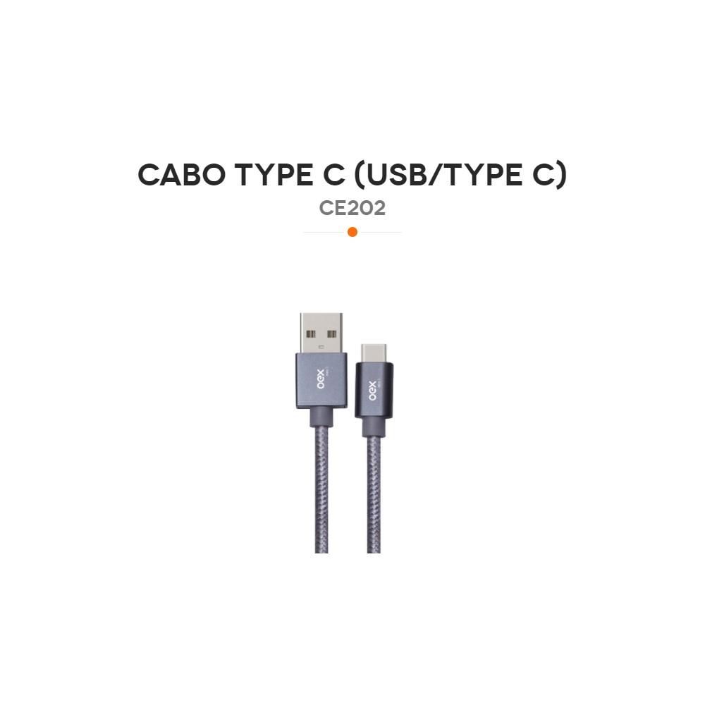 CE202 CABO TYPEC/ TRANCADO (USB/TYPEC)