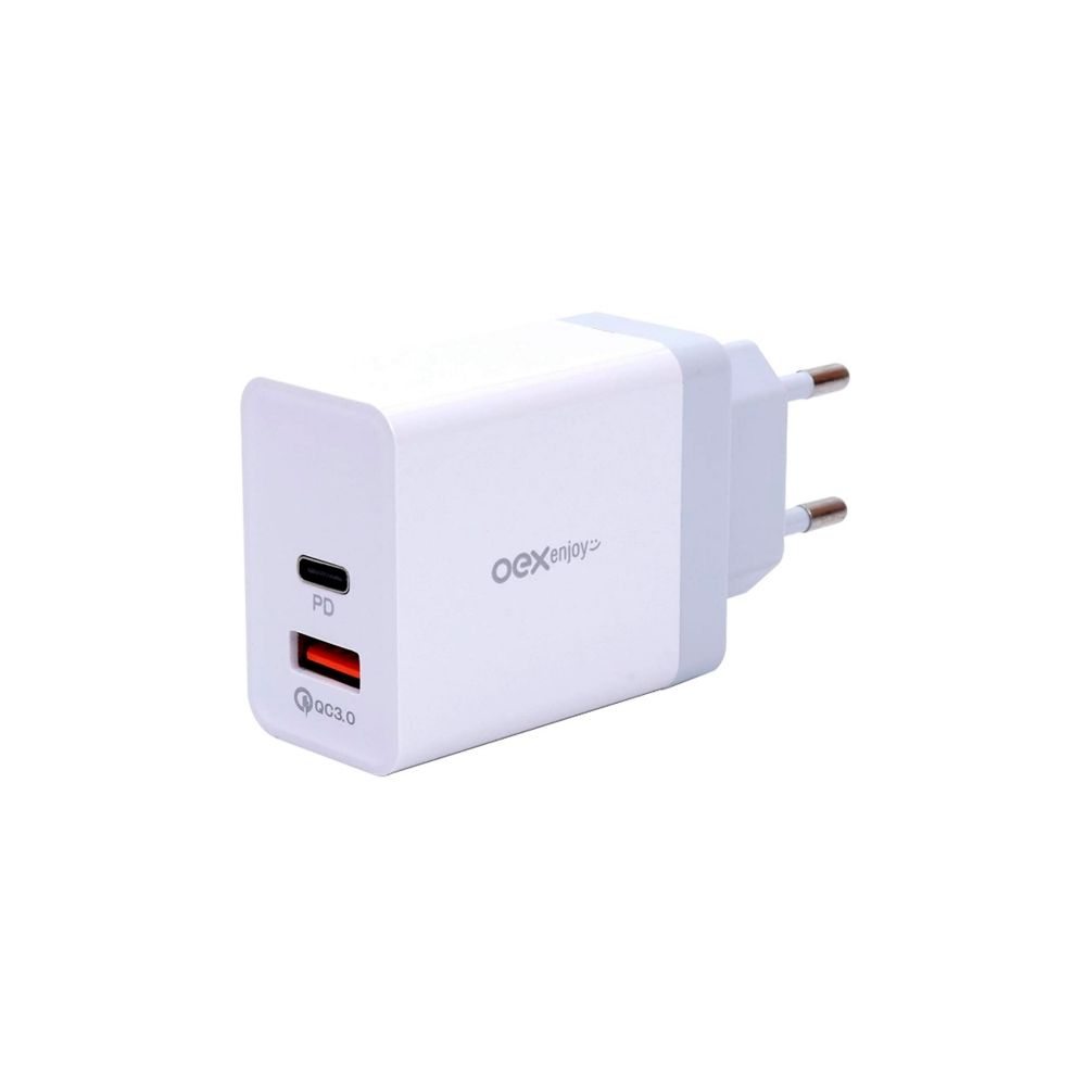 CG203 CARREGADOR DE TOMADA DUPLO (USB + TYPE C)
