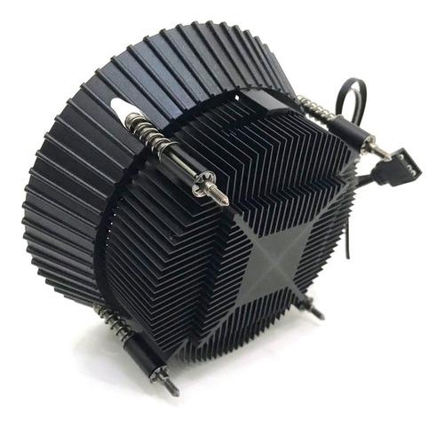 COOLER FAN P/PROC INTEL 1150/1155/1156 C/6LEDS ARGB FAN 92MM DX-9007 DEX