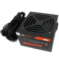 FONTE ALIMENTACAO ATX KTROK 500W BLACK FAN KT-FT 80 PLUS BRONZE C/CAIXA C/CABO-Garantia: 365 dias