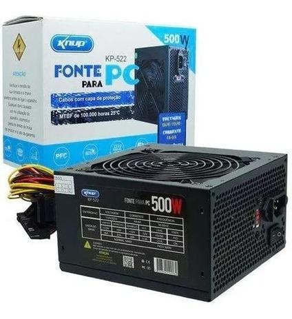 FONTE DE ALIMENTACAO 500W REF KP-522