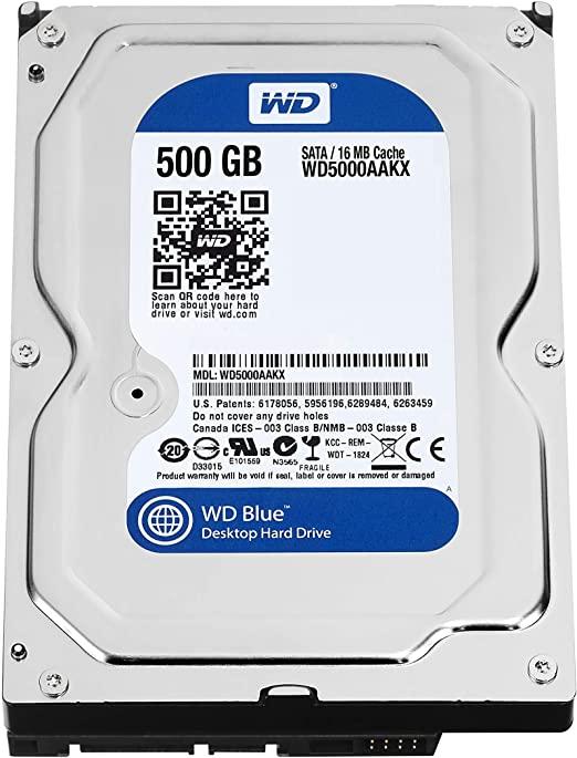 HD 500GB WESTERN DIGITAL 3,5 DT WD5000AAKX