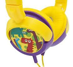 HP300 HEADPHONE DINO INFANTIL OEX