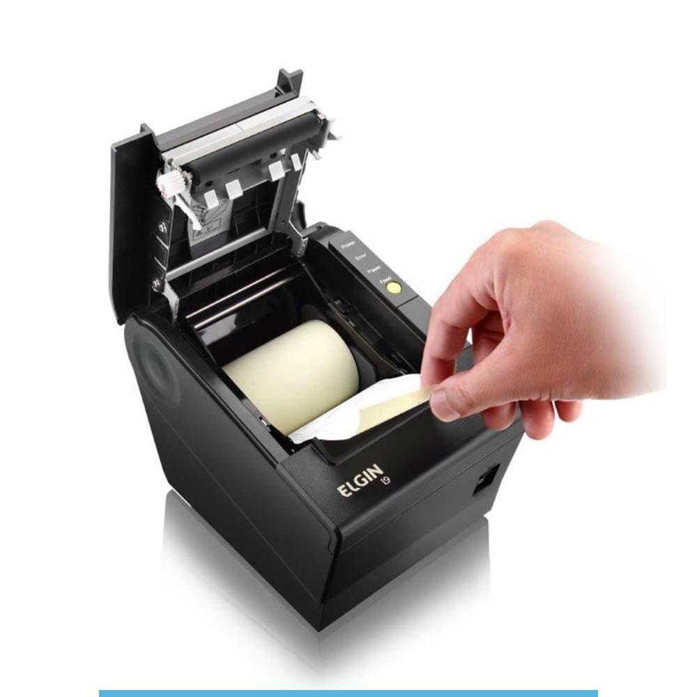 IMPRESSORA ELGIN I9 NAO FISCAL USB C/GUILHOTINA DCR2015/02546-9