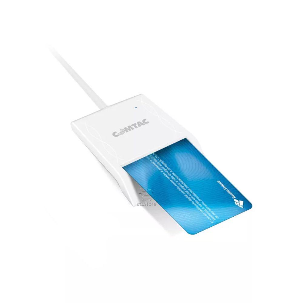 LEITOR CARTAO USB 2.0 P/ SMARTCARD CNPJ/CPF 9202/COMTAC