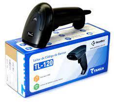 LEITOR CODIGO DE BARRAS USB TANCA TL-120