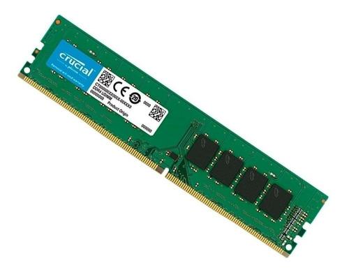 MEMORIA 8GB DDR4 2666MHZ CL19 CRUCIAL - CB8GU2666-Garantia: 365 Dias