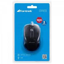 MOUSE OPT 1600DPI USB FORTREK OM103 PT