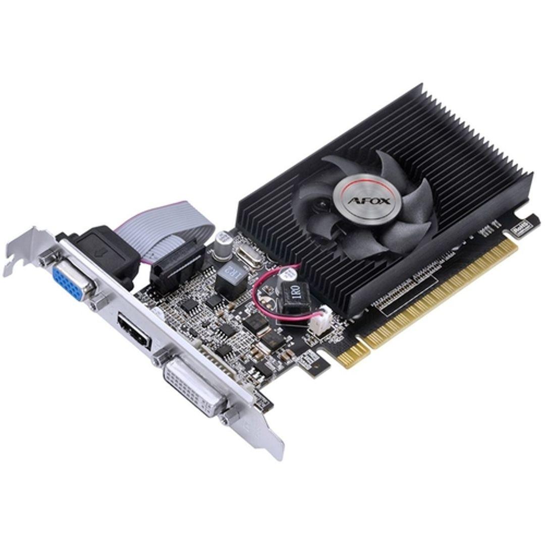 PLACA DE VIDEO AFOX GEFORCE G210 1GB DDR3 64 BITS - HDMI- DVI - VGA - AF210-1024D3L8