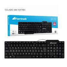 TECLADO USB STD FORTREK SKL-106 68731 PRETO