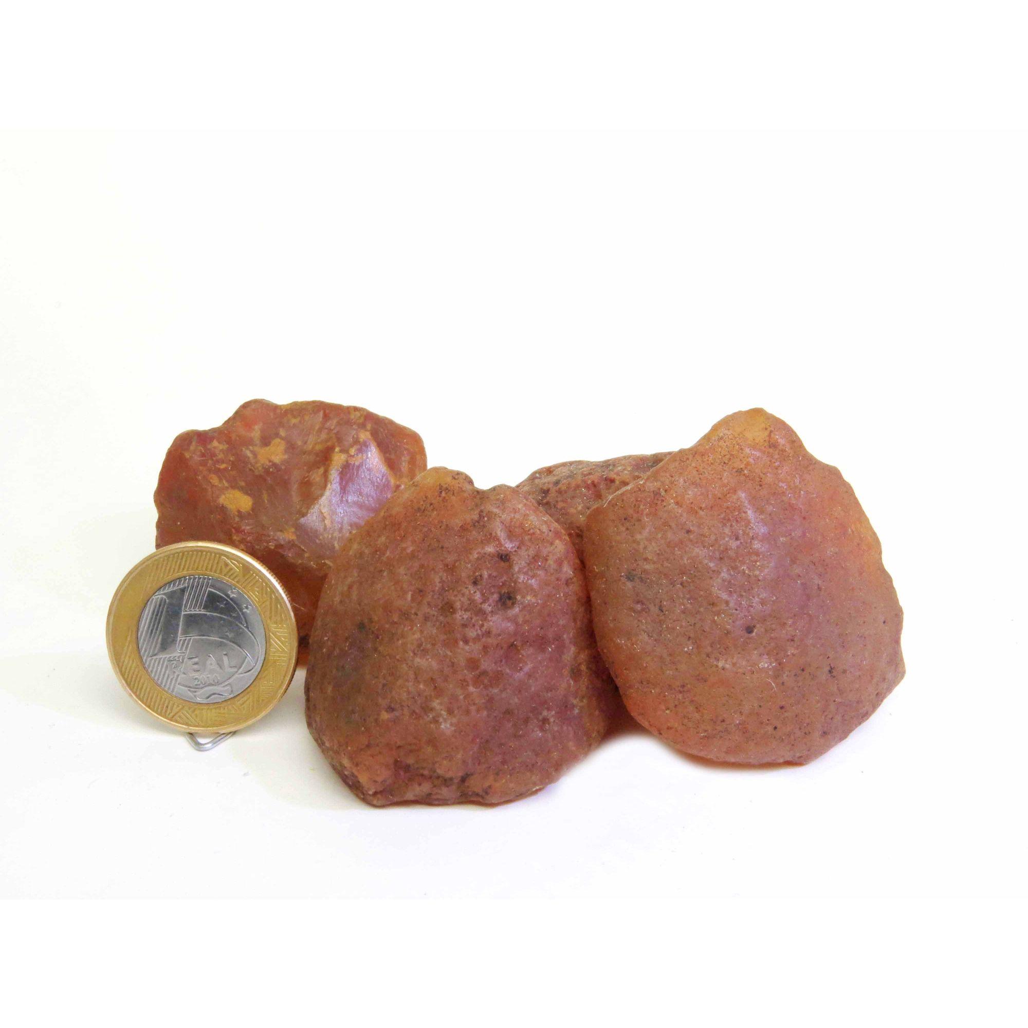 Ágata Cornalina - Bruto - 3 a 4 cm