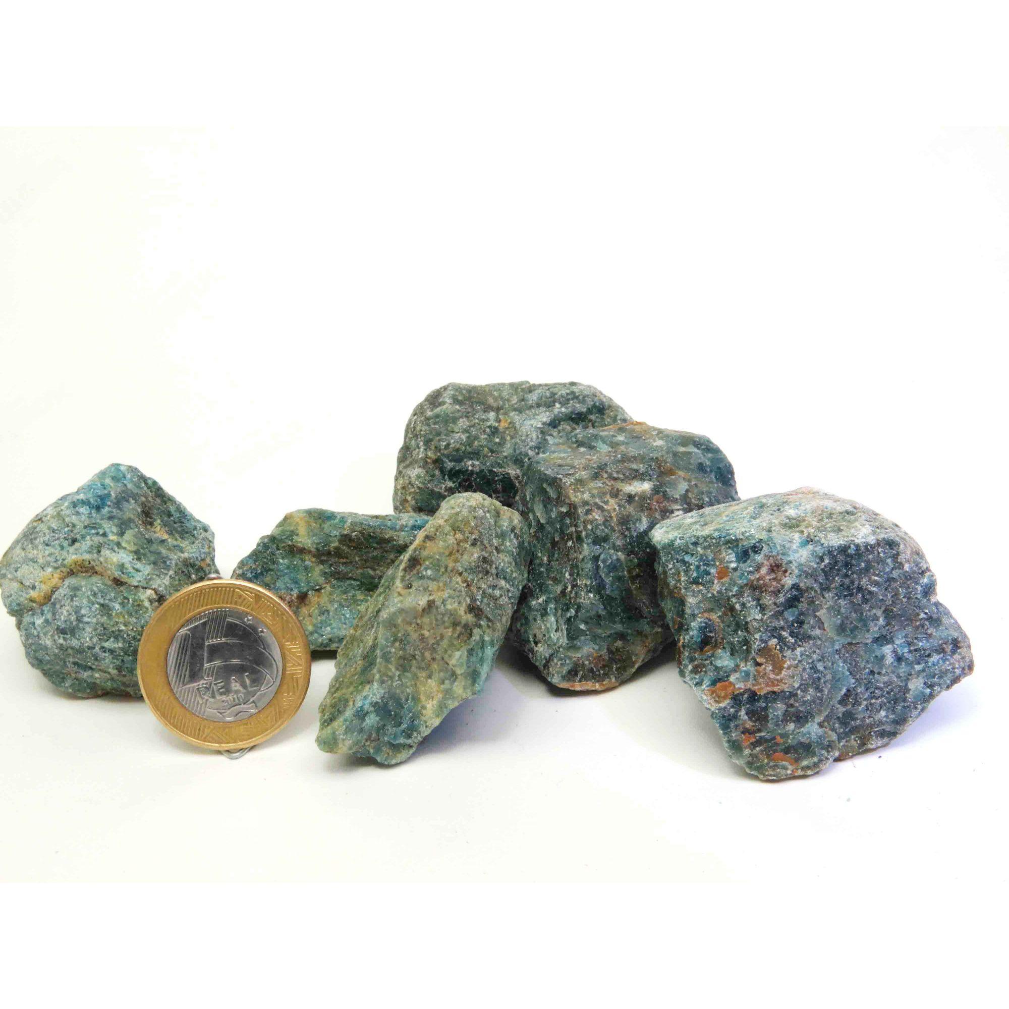 Apatita Azul - Bruto - 4 a 5 cm