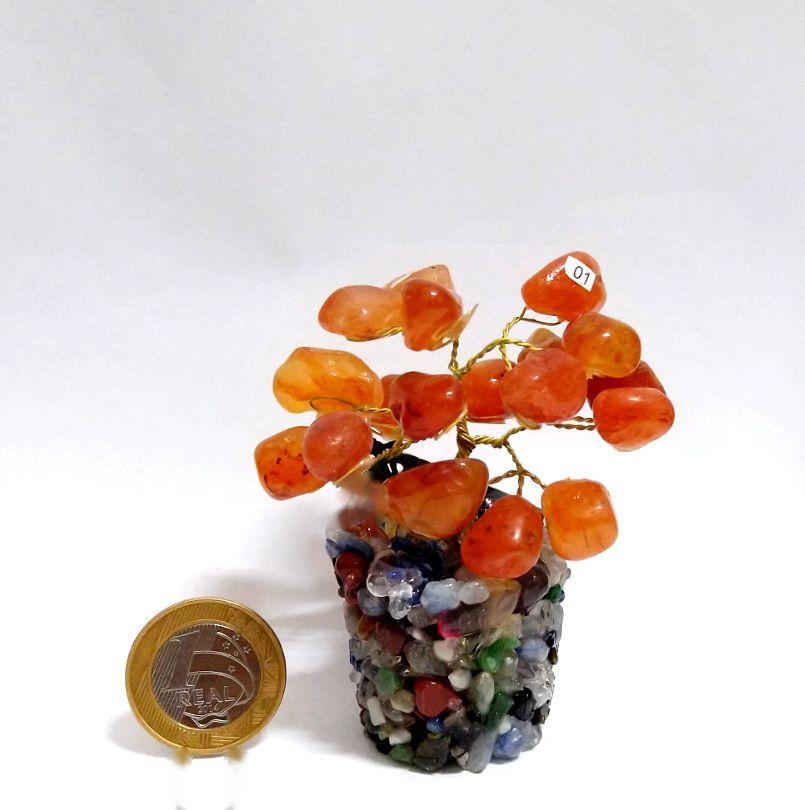 Árvore - Base Mix de Minerais - 7,5 a 9,5 cm