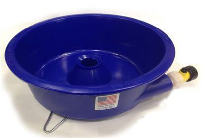 Bacia Ciclone Concentradora de Ouro para Garimpo | Blue Bowl