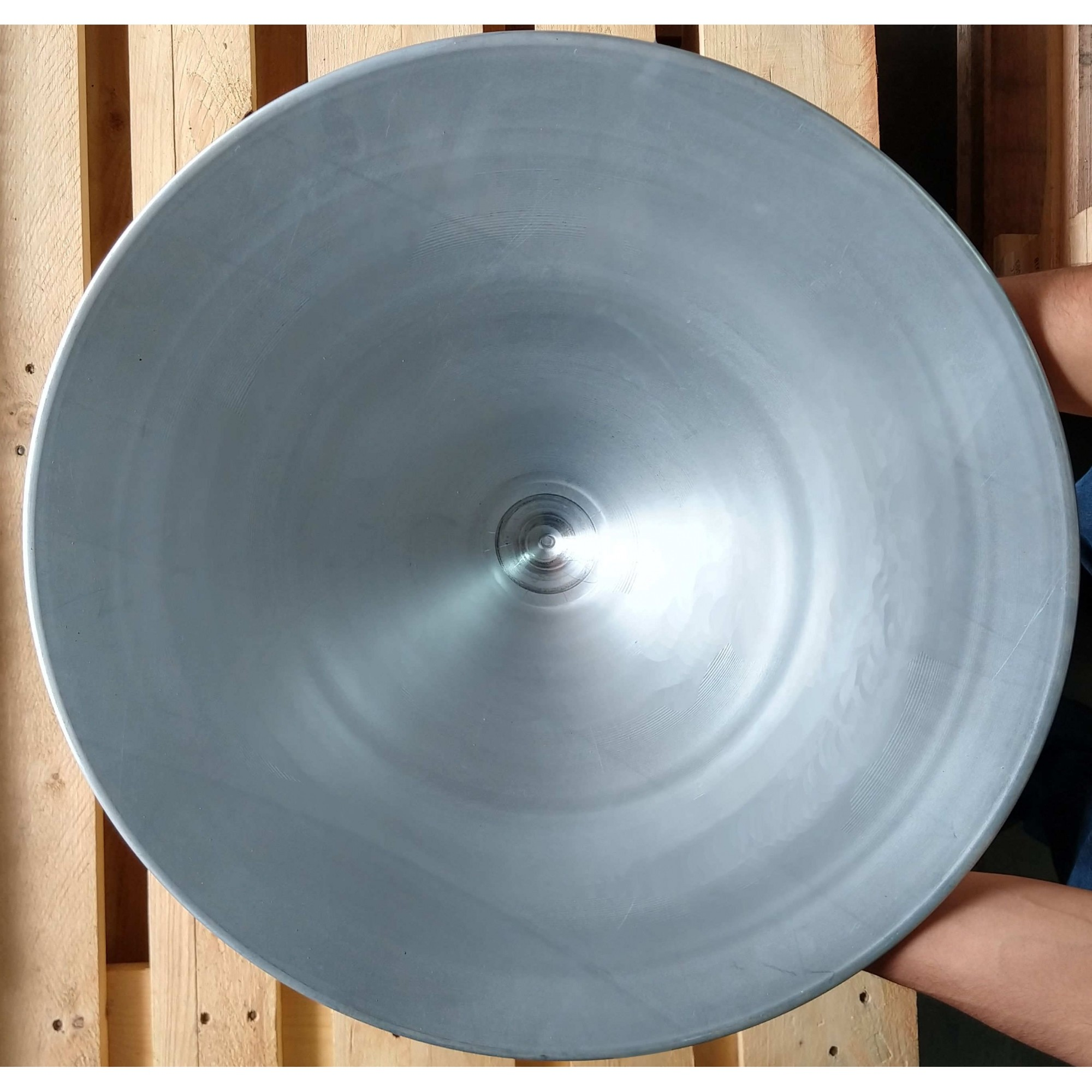 Bateia de Aço Galvanizado para Garimpo - 300 mm