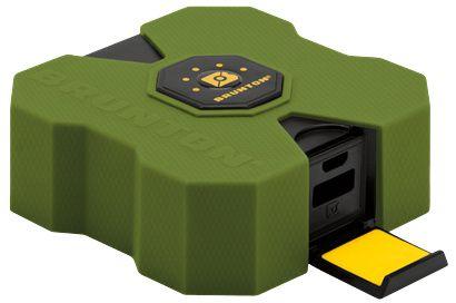 Bateria Portátil Revolt 9000mAh Brunton para Smartphones - Power Bank Verde