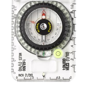 Bússola Brunton Profissional para Navegação com Visão Noturna | TruArc 20 Glow