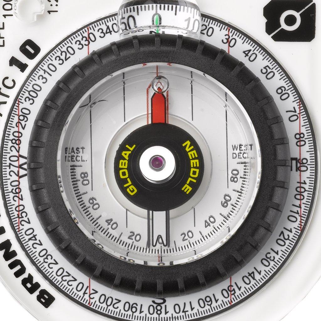Bússola Brunton para Navegação com Visão Noturna | TruArc 10 Glow