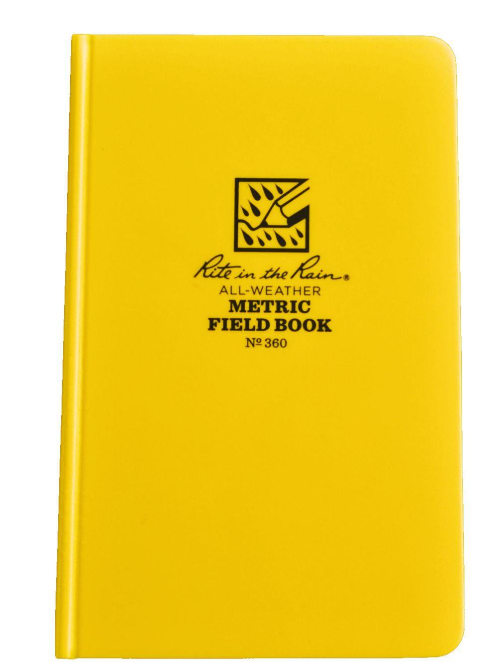 Caderneta de Campo Métrica Impermeável 360