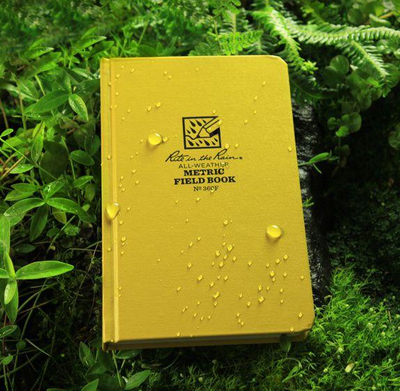 Caderneta de Campo Métrica Impermeável 360F